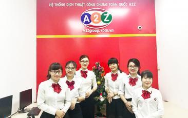 Ảnh nhân viên công ty dịch thuật A2Z 07