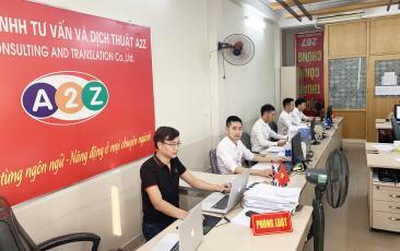 Ảnh nhân viên công ty dịch thuật A2Z 11