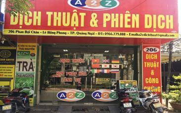 206 Phan Bội Châu, Lê Hồng Phong, TP. Quảng Ngãi
