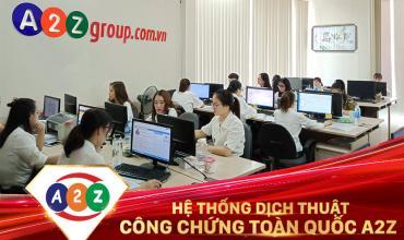 Dịch thuật công chứng tiếng Pháp tại Tuyên Quang