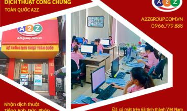 Dịch vụ phiên dịch tiếng Thái Lan tại Hà Nội