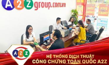 Dịch thuật công chứng huyện Ứng Hòa
