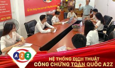 Dịch thuật công chứng huyện Hóc Môn