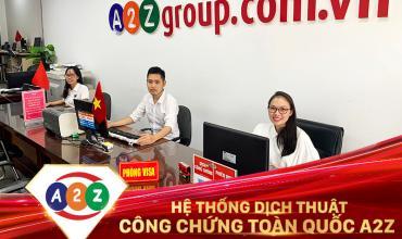 Dịch thuật công chứng huyện Tam Dương