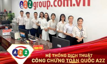 Dịch thuật công chứng huyện Thường Tín