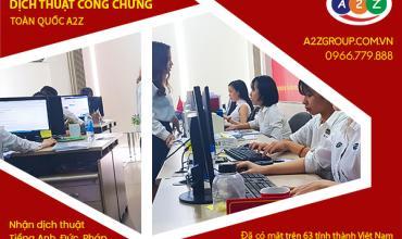 Dịch vụ phiên dịch tiếng Thái Lan tại Thủ Dầu Một - Bình Dương