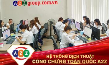Dịch thuật công chứng quận Tân Bình