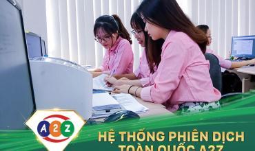 Phiên dịch tiếng Anh tại Tp Vinh - Nghệ An