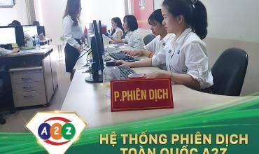Phiên dịch tiếng Trung tại Tp Vinh - Nghệ An