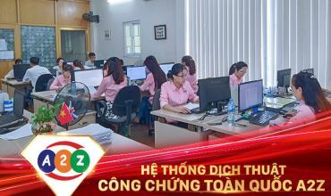 Dịch thuật công chứng Nha Trang
