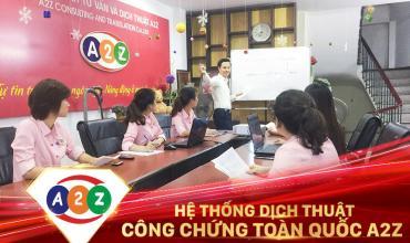 Dịch thuật công chứng huyện Xuyên Mộc