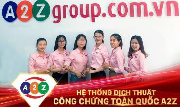 Dịch thuật công chứng quận Phú Nhuận