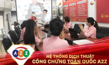 Dịch thuật công chứng quận Ninh Kiều