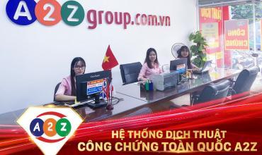 Dịch thuật công chứng huyện Phù Ninh