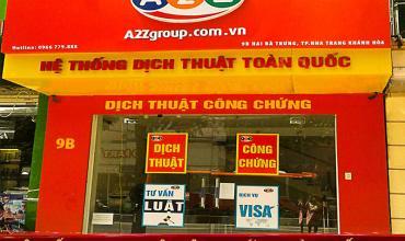 Dịch thuật công chứng huyện Yên Lạc