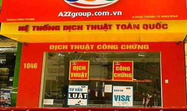 Dịch thuật công chứng tiếng Trung Quốc tại Tuyên Quang