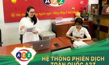 Phiên dịch Tiếng Anh tại Nha Trang
