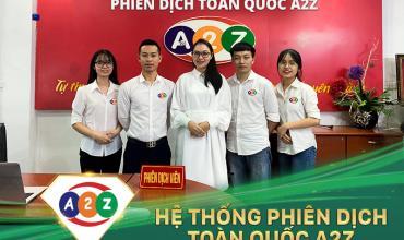 Phiên dịch tiếng Anh tại Tuyên Quang