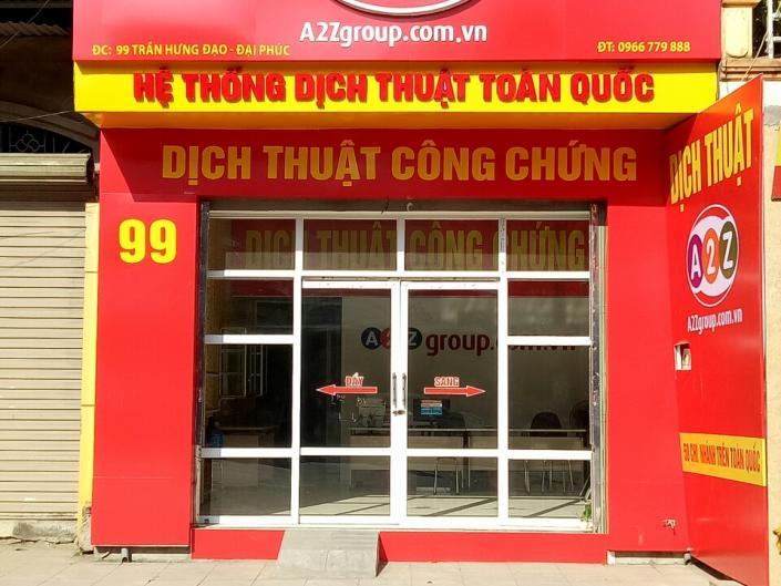 99 Phố Vũ, đường Trần Hưng Đạo, TP. Bắc Ninh